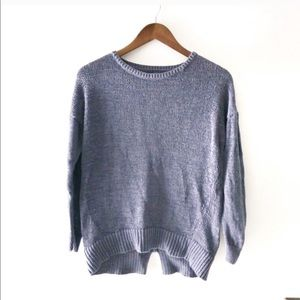 Loft crew neck knitted sweater